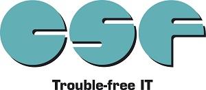 CSF Computer Solutions Facility Logo