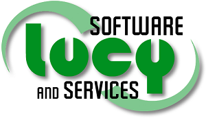 Lucy Software and Services Logo