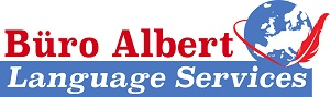 Büro Albert GbR Language Services Logo