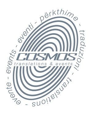 Cosmos Translations & Events Logo