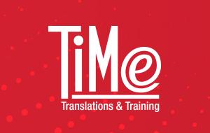 TiMe Translations & Training Logo